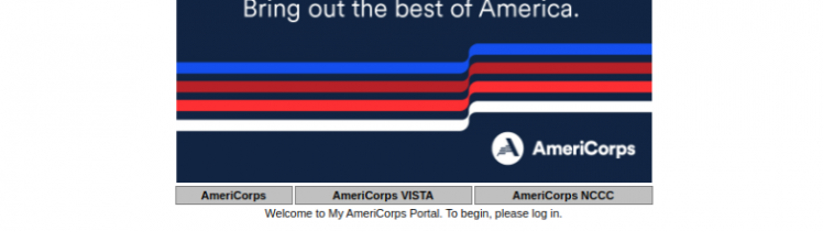 My AmeriCorps Login