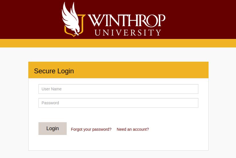 Winthrop University Login