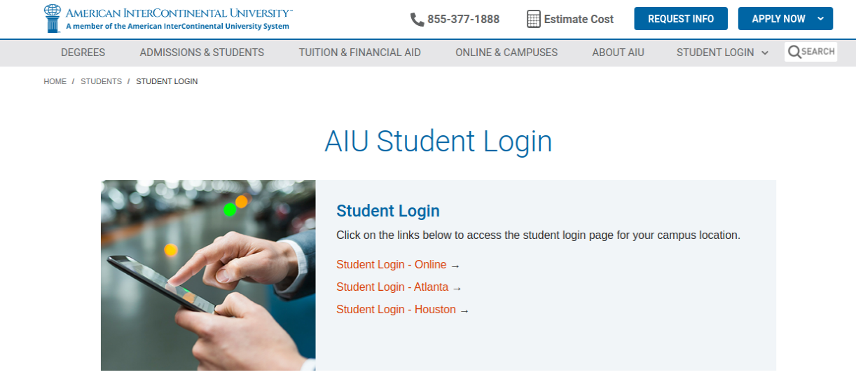 AIU Student Login
