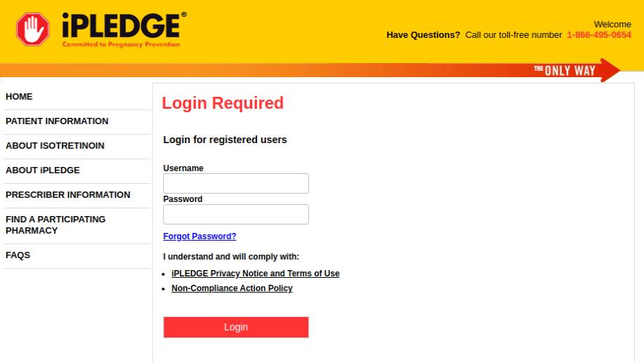 iPledge Signin