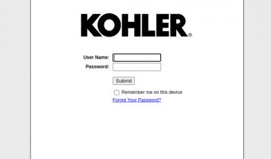 Kohler Login