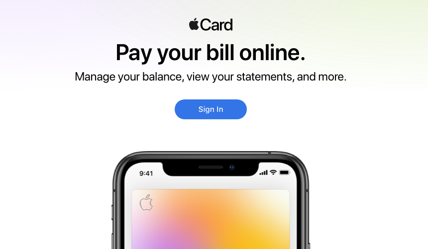 Apple Card Login