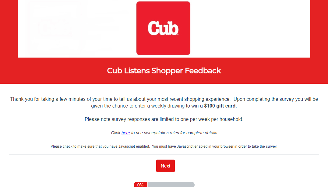 Cub Listens Survey