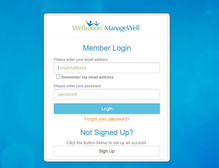 ManageWell Login